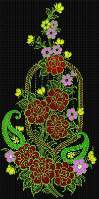 A Tisket A Tasket Print by Evelyn Patrick