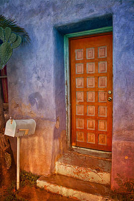 Photograph - A Tucson Stoop by David Wagner