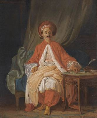 King Painting - A Turkish Nobleman by Jean
