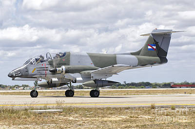 Foreign Military Photograph - A Uruguayan Air Force Ia-58 Pucara by Giovanni Colla