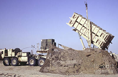 A U.s. Army Patriot Surface-to-air M901 Print by Stocktrek Images