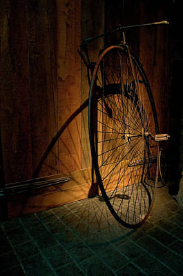 A Very Old Bicycle Print by Dutourdumonde Photography