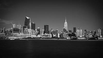 A View From Across The Hudson Original by Eduard Moldoveanu