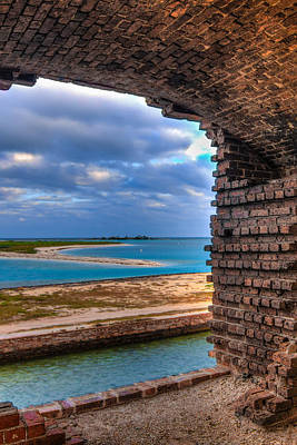 A View From Fort Jefferson - 2 Print by Andres Leon