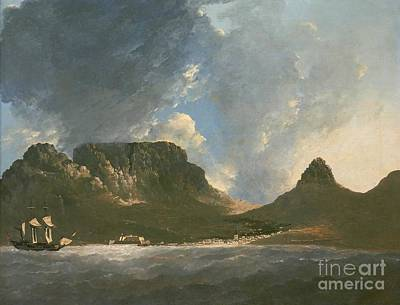 Resolution Painting - A View Of The Cape Of Good Hope by Celestial Images