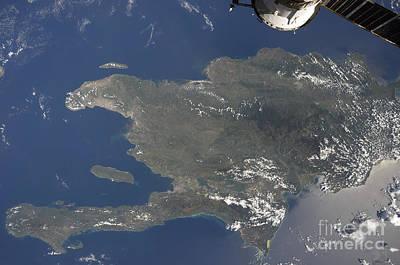 Landmass Photograph - A View Of The Caribbean Island by Stocktrek Images