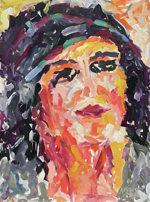 Painting - A Walk Along The Nile by Khalid Alzayani