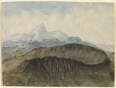 Caspar Painting - A Walk At Dusk by Celestial Images