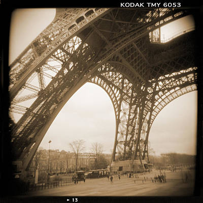 Camera Digital Art - A Walk Through Paris 13 by Mike McGlothlen
