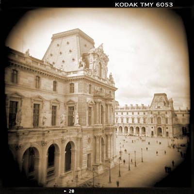 A Walk Through Paris 20 Print by Mike McGlothlen