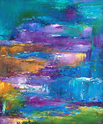 Abstraction Painting - A Walk To Remember by Johnathan Harris