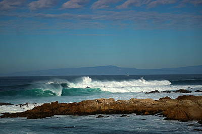 Photograph - A Winter Day On The Coast Of Pacific Grove Ca by Joyce Dickens