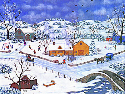 A Winter Evening Original by Linda Mears