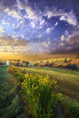 Hope Photograph - A World With A View by Phil Koch
