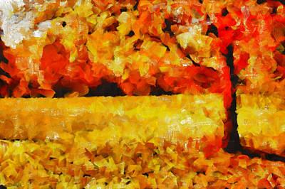 A Yellow Love Story - Painting Original by Sir Josef Social Critic - ART