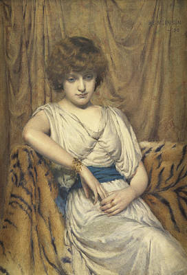 Morrison Painting - A Young Greek by Robert Edward Morrison