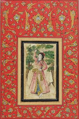 17th Century Painting - A Young Princess by Eastern Accent