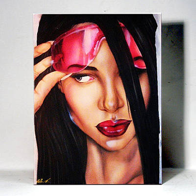 Must Art Painting - Aaliyah 1 by Osborne Wolfskill Montaque