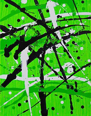 Pentagram Art Painting - Ab Initio by Embrace the Matrix