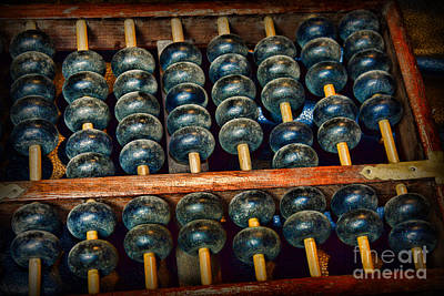 Back To Life Photograph - Abacus by Paul Ward