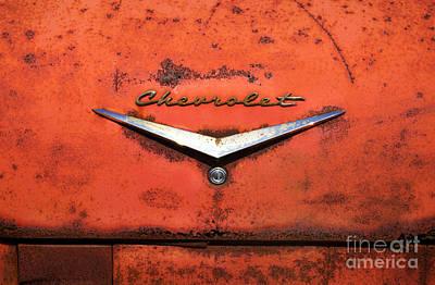 Abandoned 1958 Chevy Print by Arni Katz