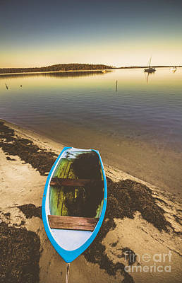 Wooden Ships Photograph - Abandoned Boat  by Jorgo Photography - Wall Art Gallery