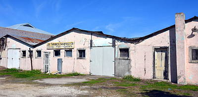 Patina Photograph - Abandoned Buildings On Apalachicola's Water Street by Carla Parris