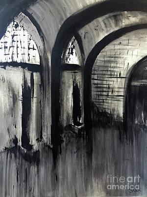 Abandoned Print by Di Meng