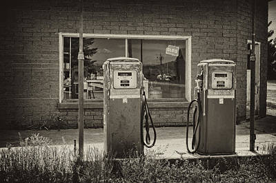 Wyoming Photograph - Abandoned Gasoline Pumps by Hugh Smith
