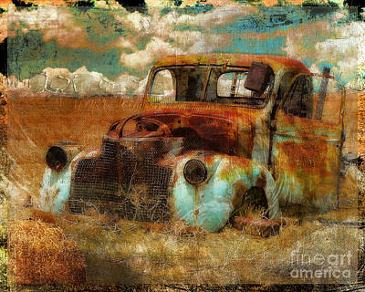 Abandoned Painting - Abandoned by Mindy Sommers