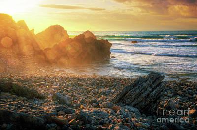 Surreal Landscape Photograph - Abano Beach by Carlos Caetano