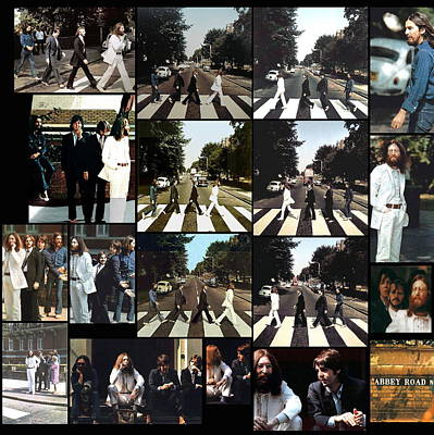 Abbey Road Photo Shoot Print by Paul Van Scott