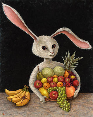 Grapefruit Painting - Abbondanza by Holly Wood