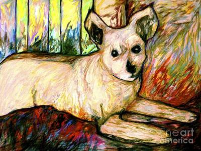 Drawing - Abby by Jon Kittleson