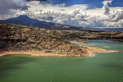Keef Photograph - Abiquiu Lake 1 by Diana Powell