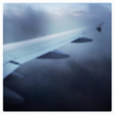 Airplane Photograph - Above The Clouds 04 - Dreaming by Matthias Hauser