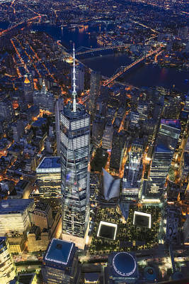 Iconic Photograph - Above The Freedom Tower Wtc by Susan Candelario