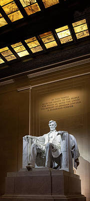 Lincoln Memorial Photograph - Abraham Lincoln by Andrew Soundarajan
