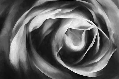 Art In Nature Digital Art - Absence Of Colorii by Jon Glaser
