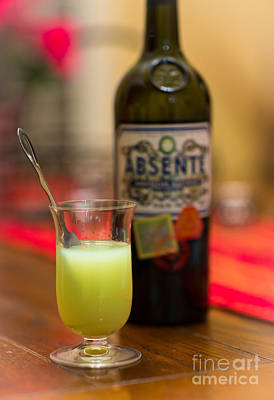 Absinthe Photograph - Absenthe by Inge Johnsson