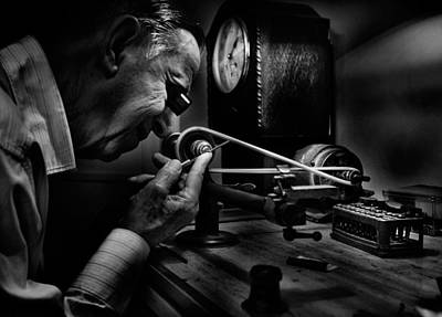 Concentration Photograph - Absolute Precision To The Exact Time by Antonio Grambone