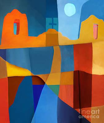 Cross Digital Art Digital Art - Abstract # 2 by Elena Nosyreva