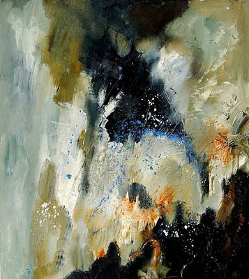 Abstarct Painting - Abstract 070808 by Pol Ledent
