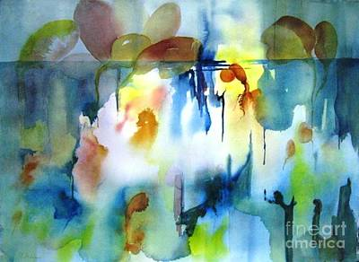 Maryann Painting - Abstract  10 by Maryann Schigur