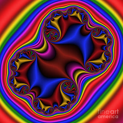 Abstract 515 Print by Rolf Bertram