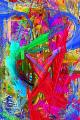 Art To Wear Digital Art - Abstract 9028 by Rafael Salazar