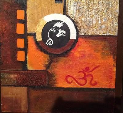 Abstract Art Original by Ravi Upadhyay