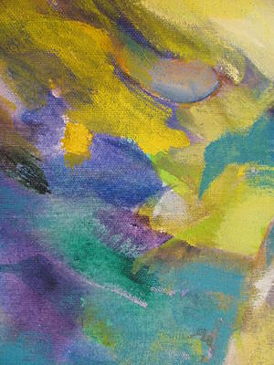 Abstact Painting - Abstract Close Up 13 by Anita Burgermeister