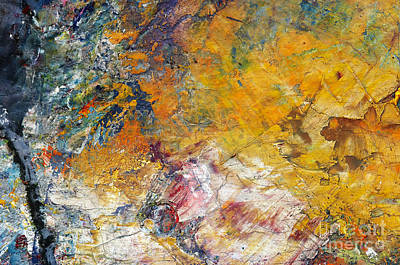 Composite Painting - Abstract Composite by Michal Boubin