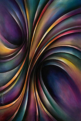 Chromatic Painting - Abstract Design 55 by Michael Lang